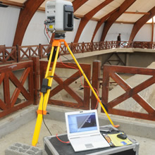 Trimble 3D laser scanning and mapping instrument